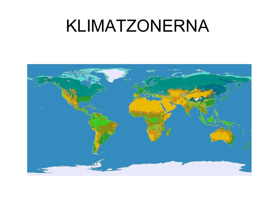KLIMATZONERNA