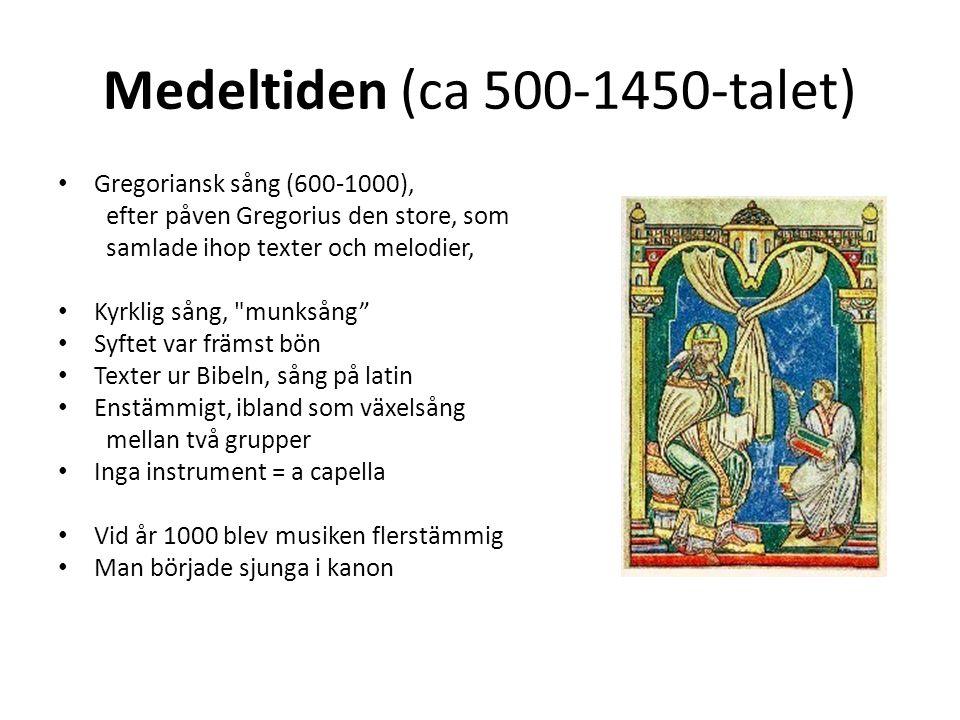Medeltiden (ca 500-1450-talet)