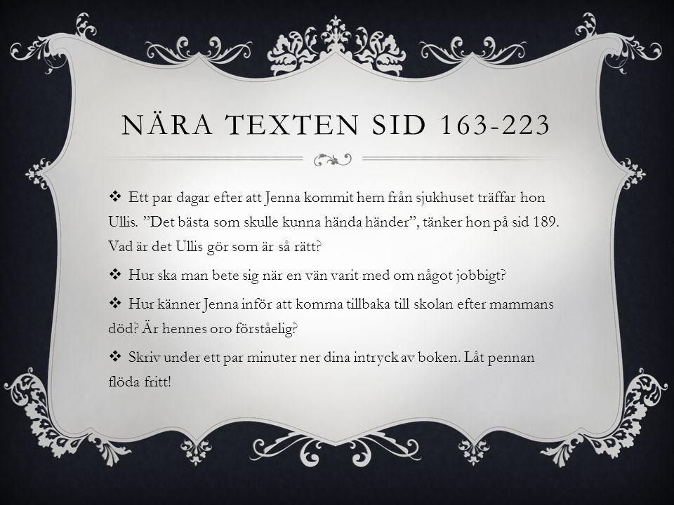 NÄRA texten sid 163-223
