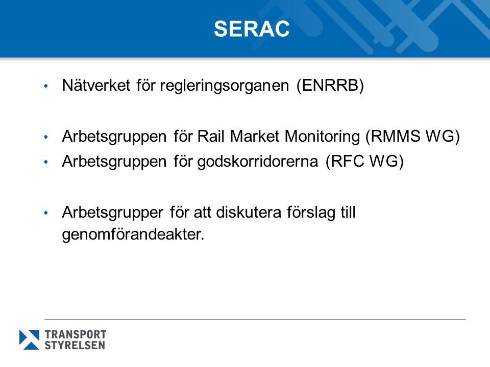 SERAC Nätverket för regleringsorganen (ENRRB)