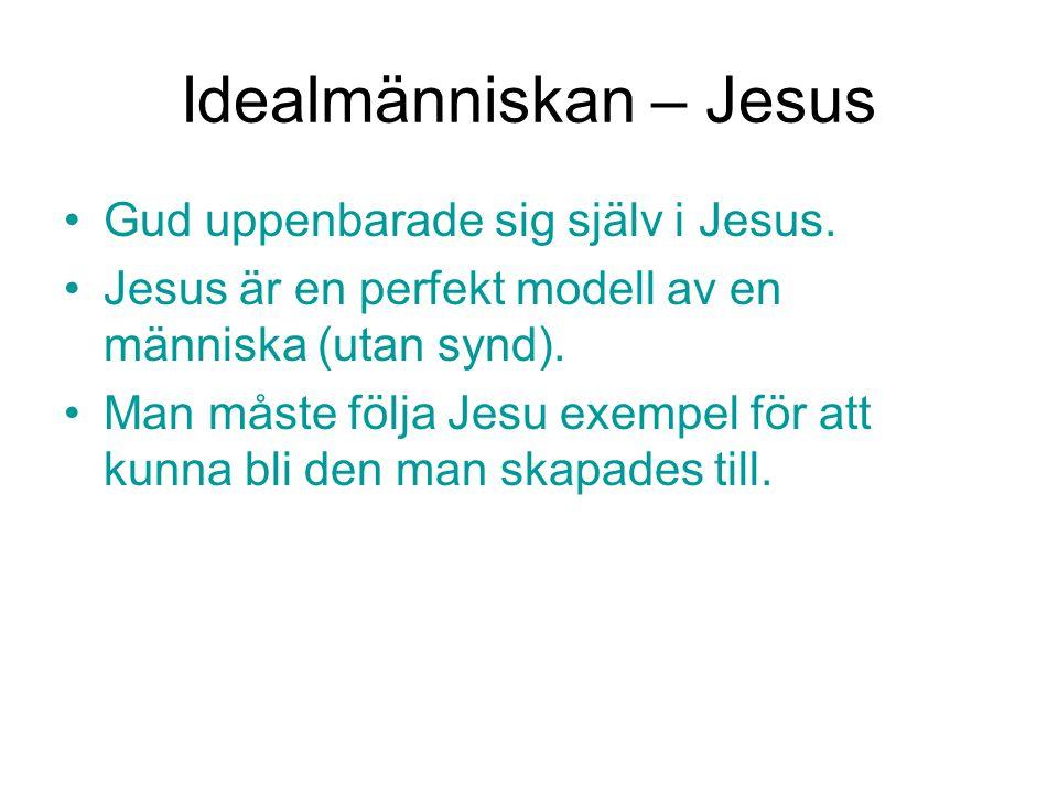 Idealmänniskan – Jesus