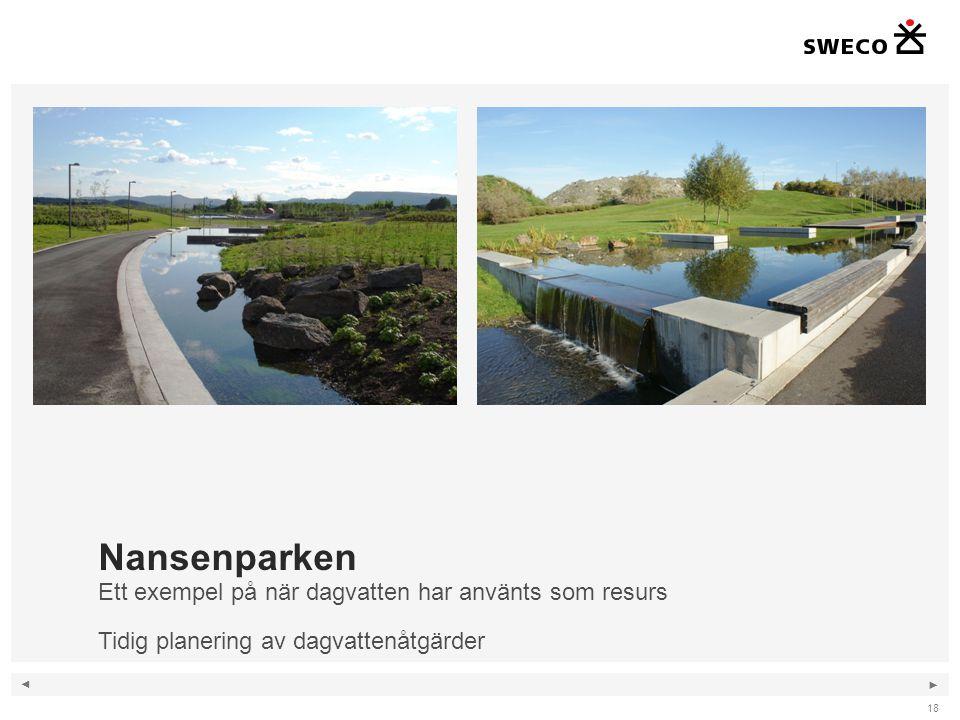 Nansenparken Ett exempel på när dagvatten har använts som resurs