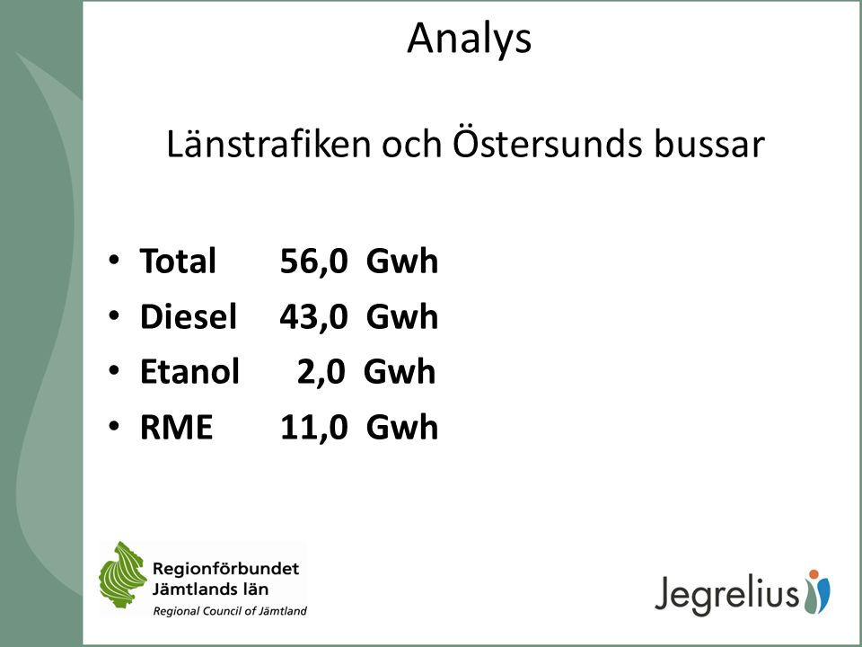 Länstrafiken och Östersunds bussar
