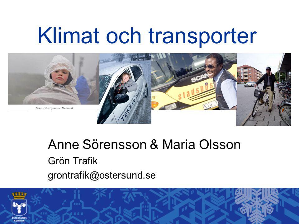 Klimat och transporter