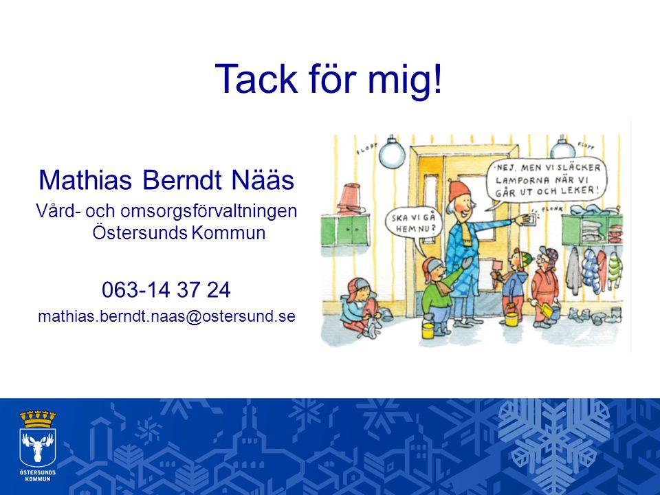 Vård- och omsorgsförvaltningen Östersunds Kommun