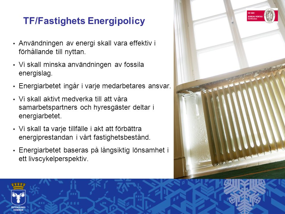 TF/Fastighets Energipolicy