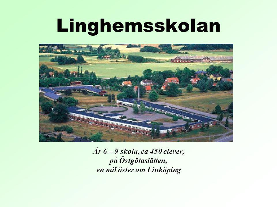 en mil öster om Linköping