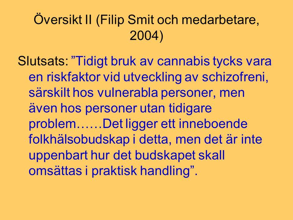 Översikt II (Filip Smit och medarbetare, 2004)