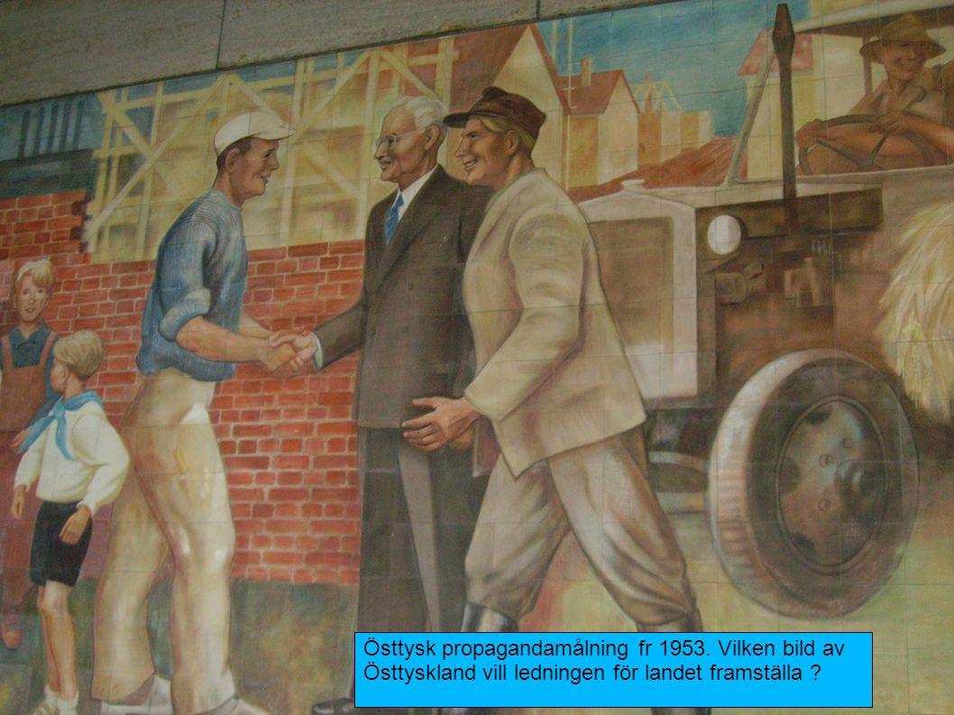 Östtysk propagandamålning fr 1953