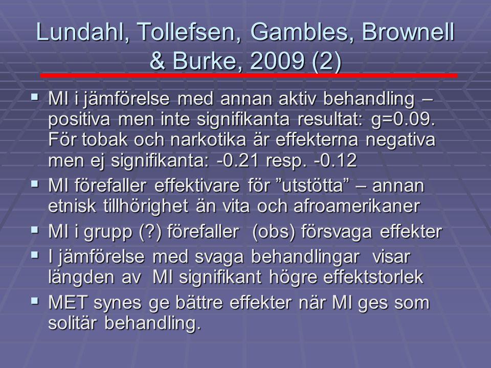 Lundahl, Tollefsen, Gambles, Brownell & Burke, 2009 (2)