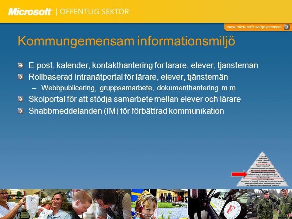 Kommungemensam informationsmiljö