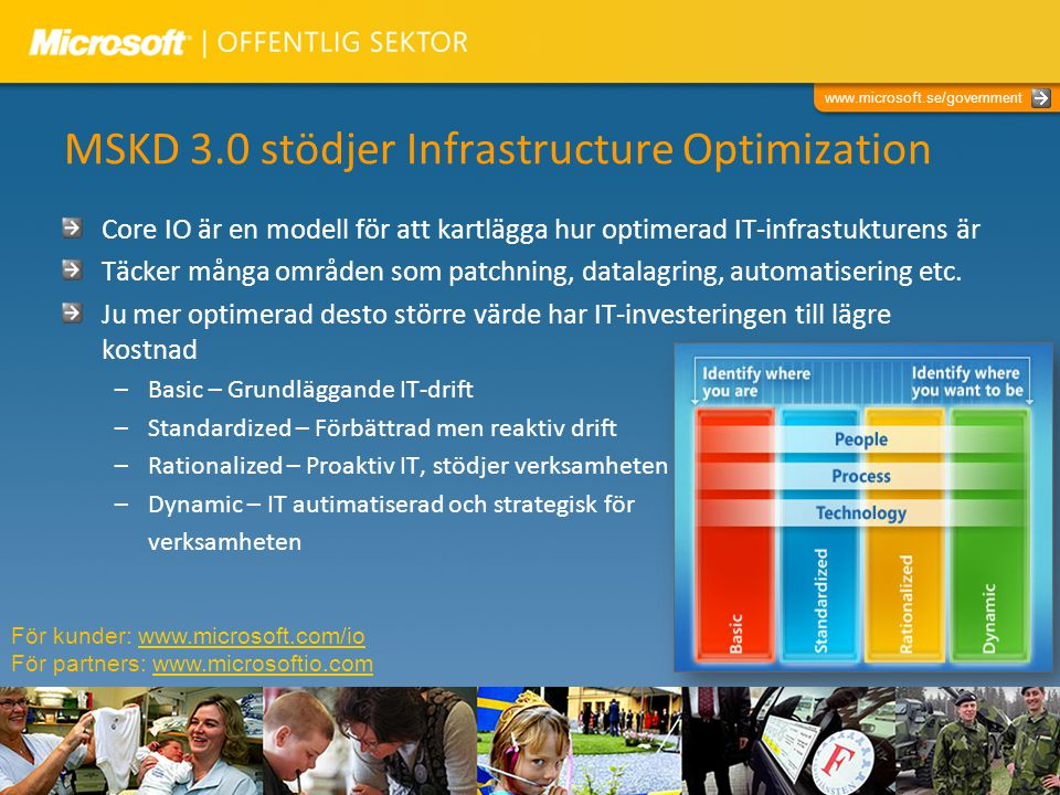 MSKD 3.0 stödjer Infrastructure Optimization