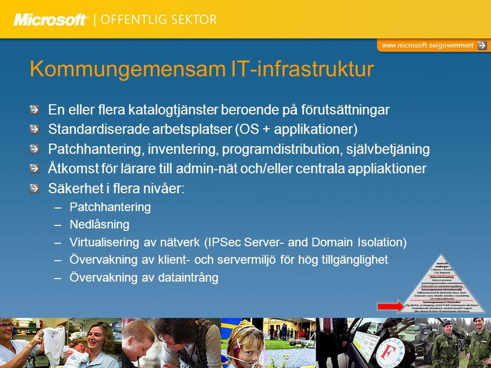 Kommungemensam IT-infrastruktur