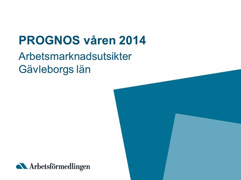 Arbetsmarknadsutsikter Gävleborgs län