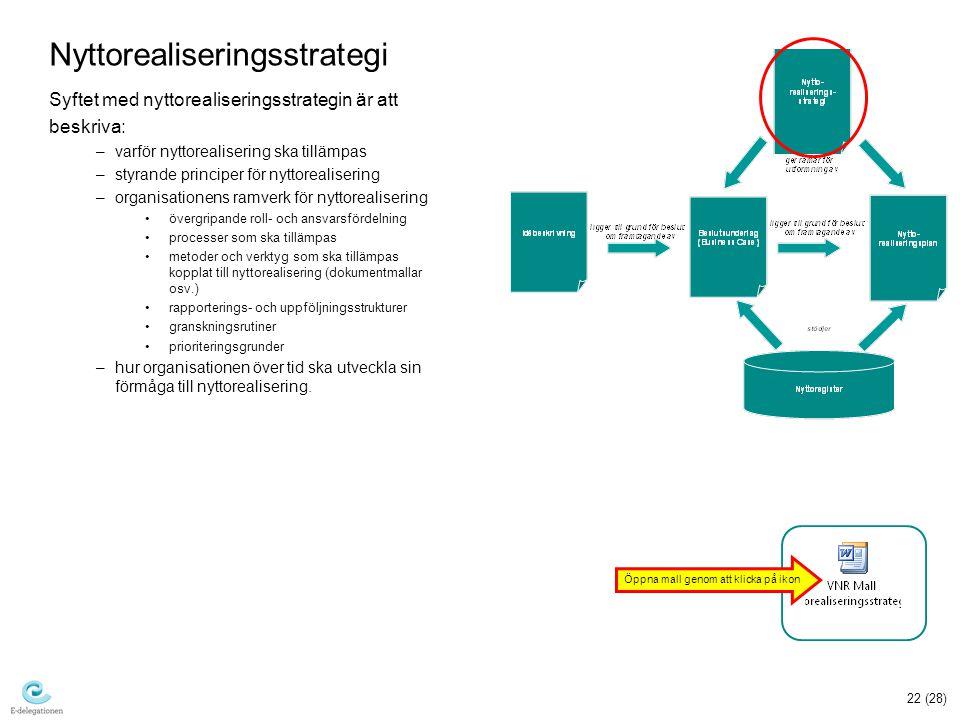 Nyttorealiseringsstrategi