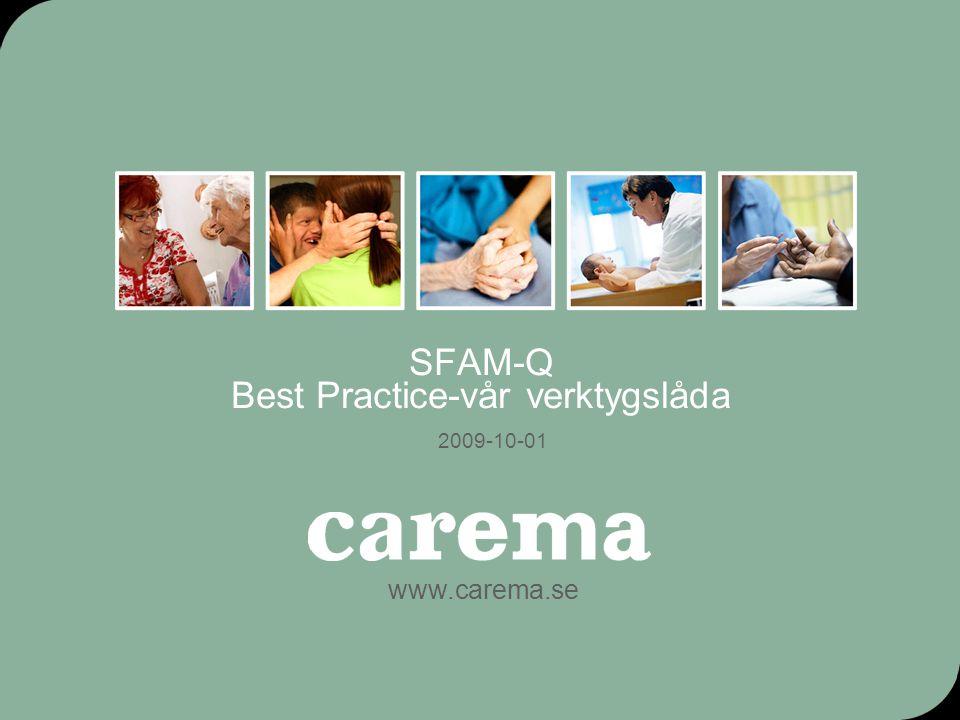 SFAM-Q Best Practice-vår verktygslåda