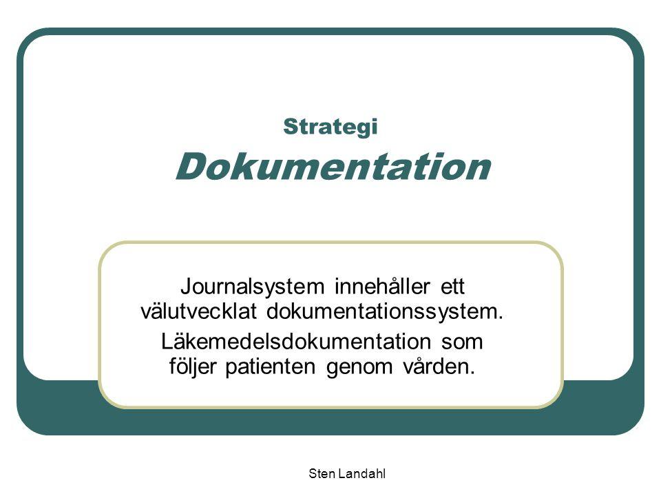 Strategi Dokumentation