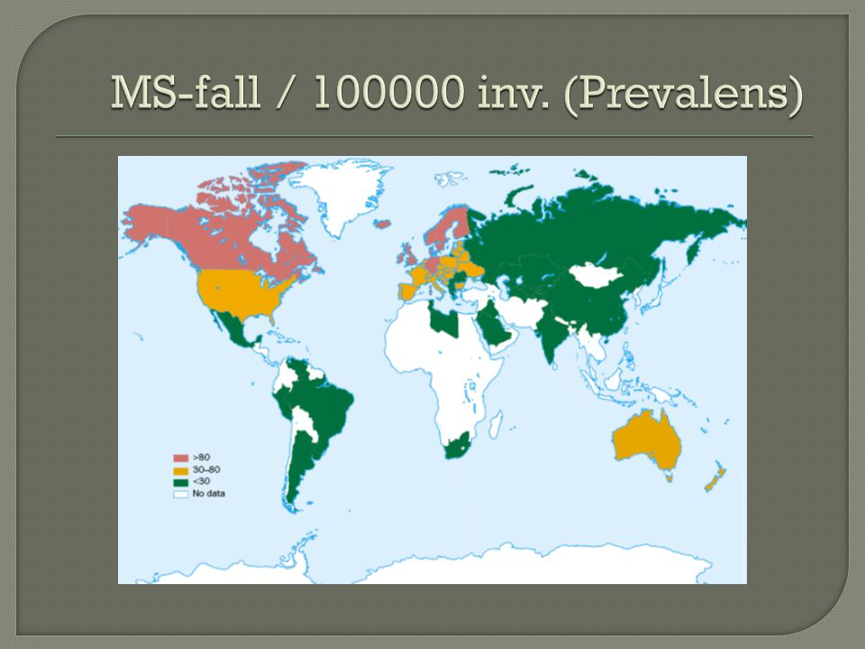 MS-fall / 100000 inv. (Prevalens)