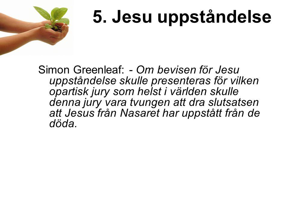 5. Jesu uppståndelse