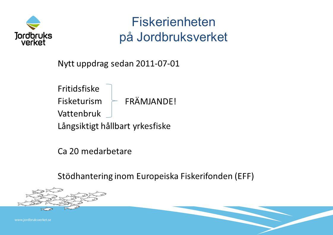 Fiskerienheten på Jordbruksverket