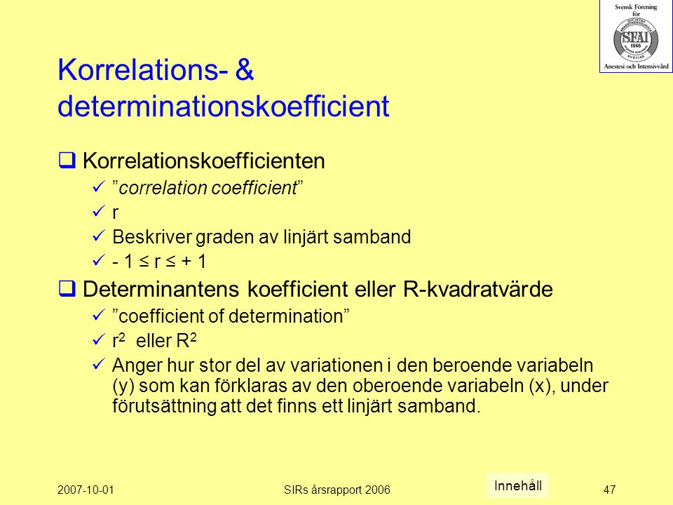 Korrelations- & determinationskoefficient