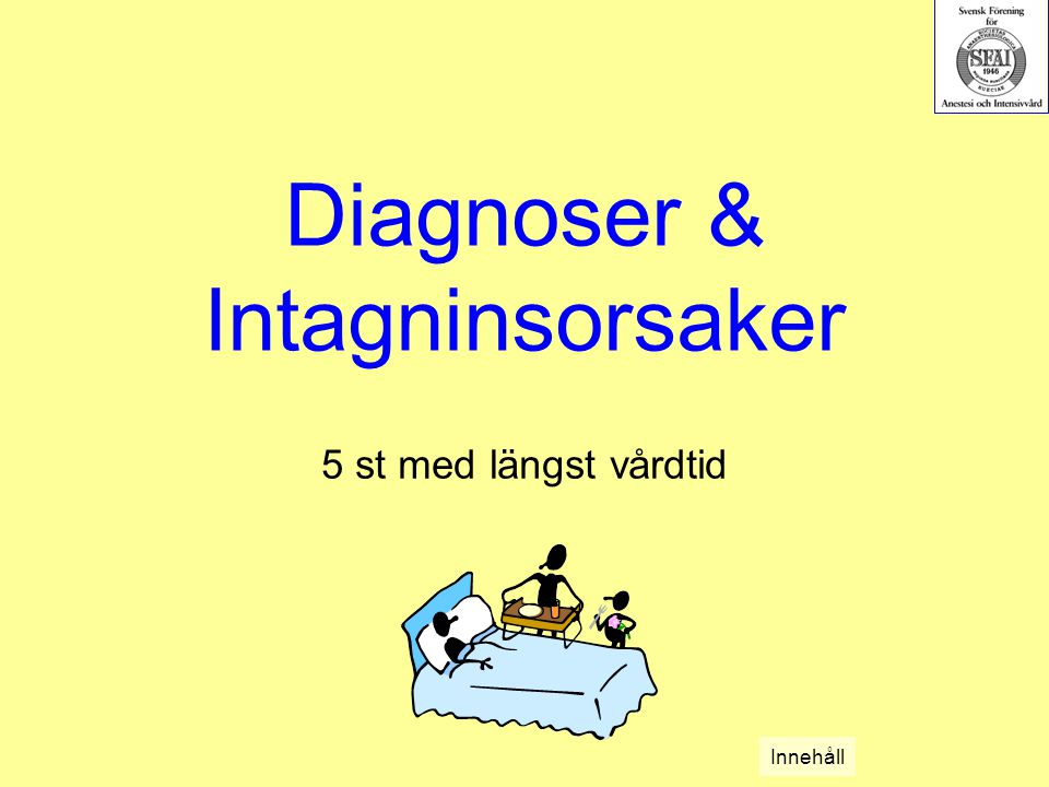 Diagnoser & Intagninsorsaker