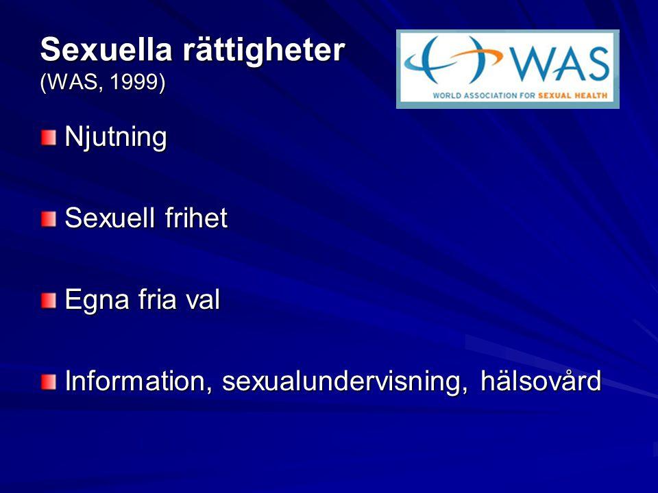 Sexuella rättigheter (WAS, 1999)