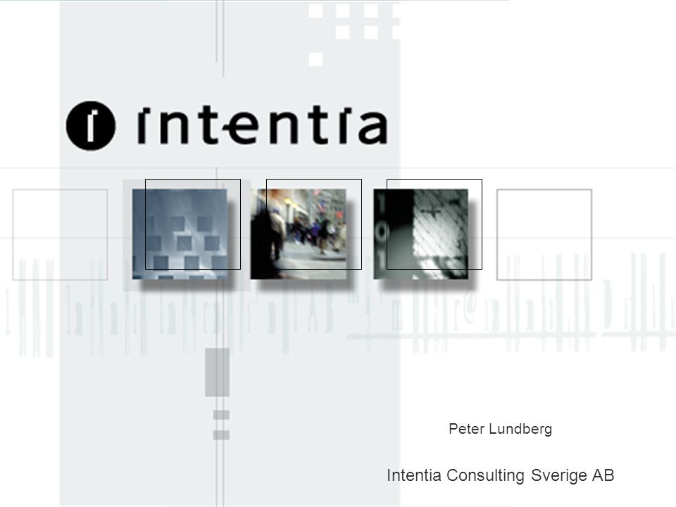 Intentia Consulting Sverige AB
