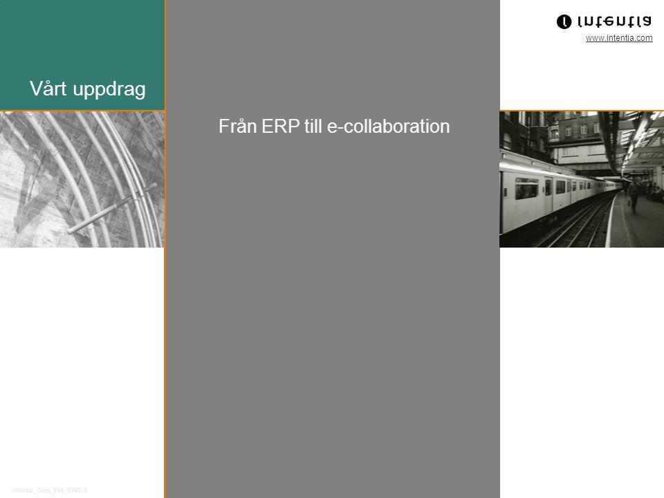 Från ERP till e-collaboration