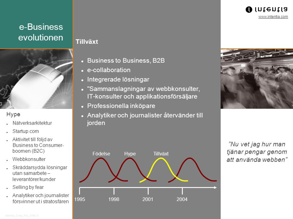 e-Business evolutionen