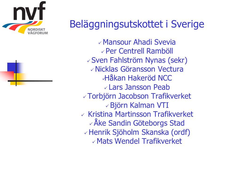 Beläggningsutskottet i Sverige