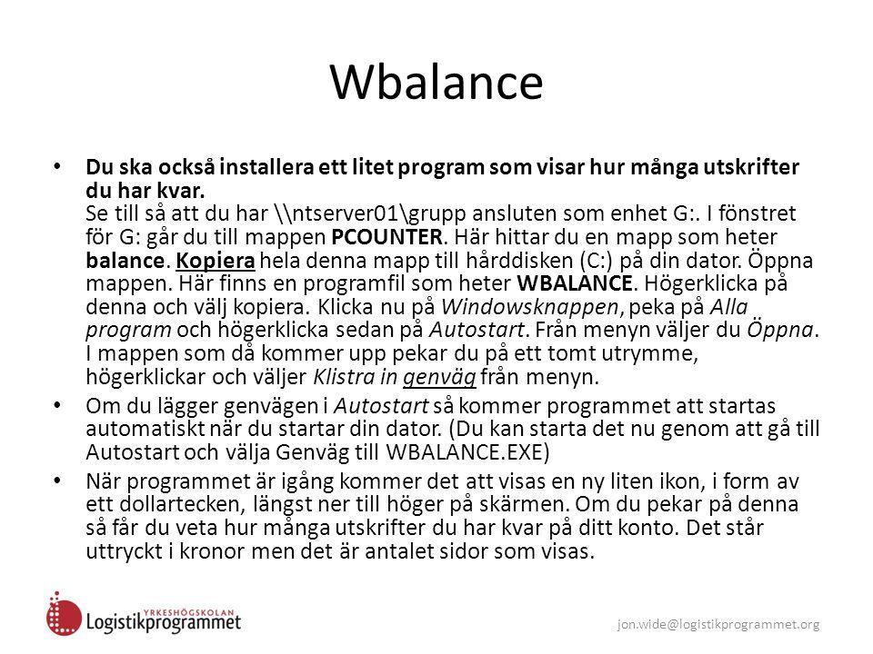 Wbalance