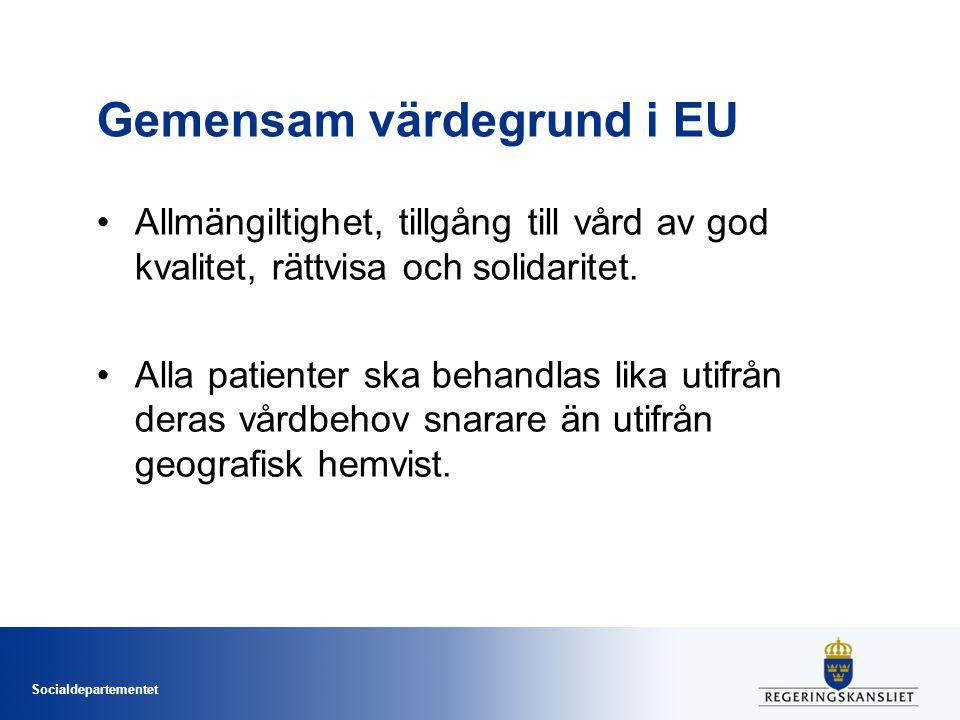 Gemensam värdegrund i EU
