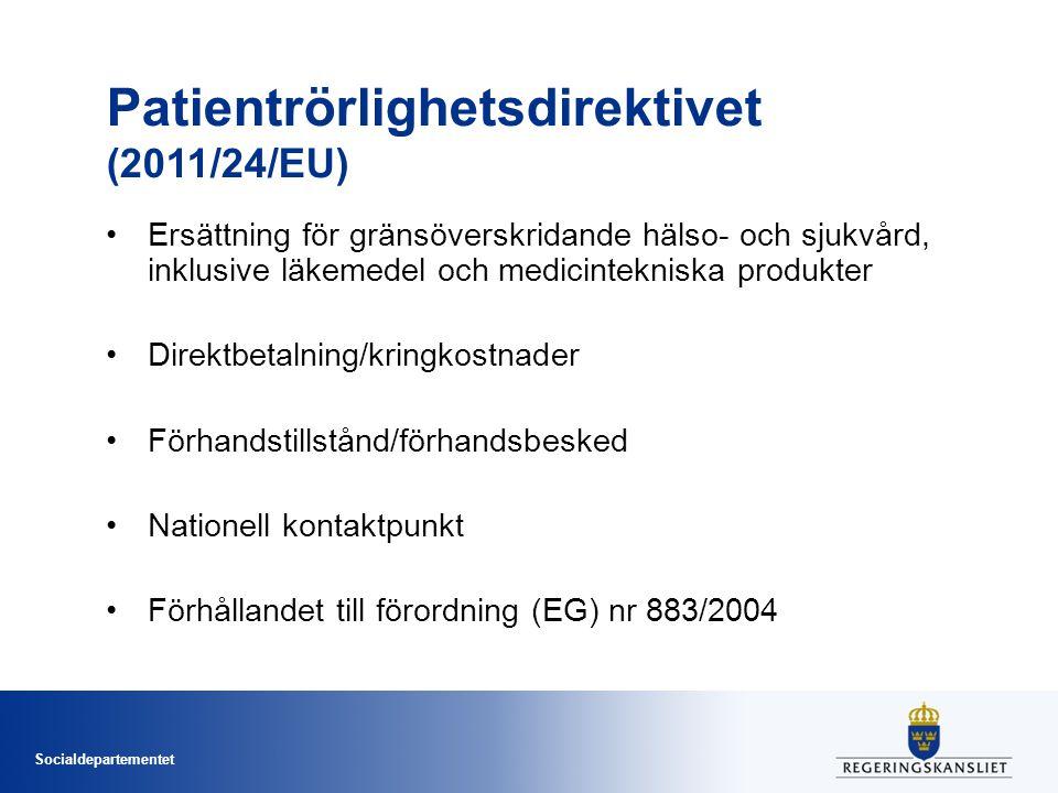 Patientrörlighetsdirektivet (2011/24/EU)