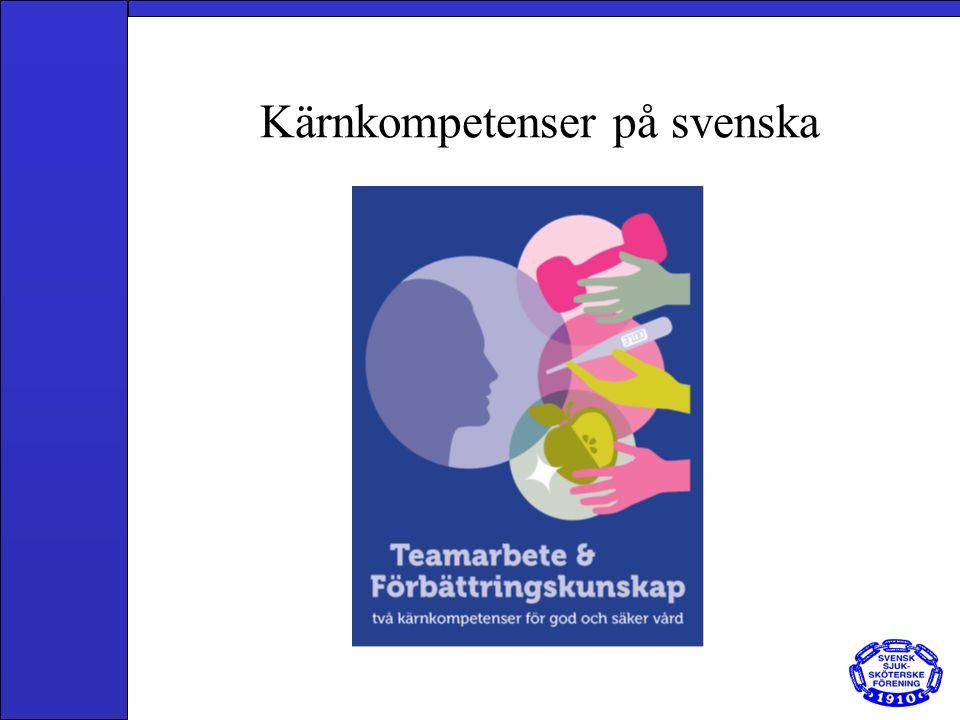 Kärnkompetenser på svenska