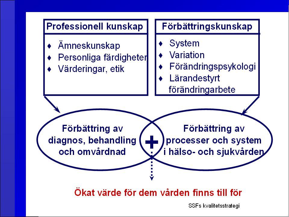 2 jobb kräver 2 kunskapsområden - professionell kunskap och förbättringskunskap.