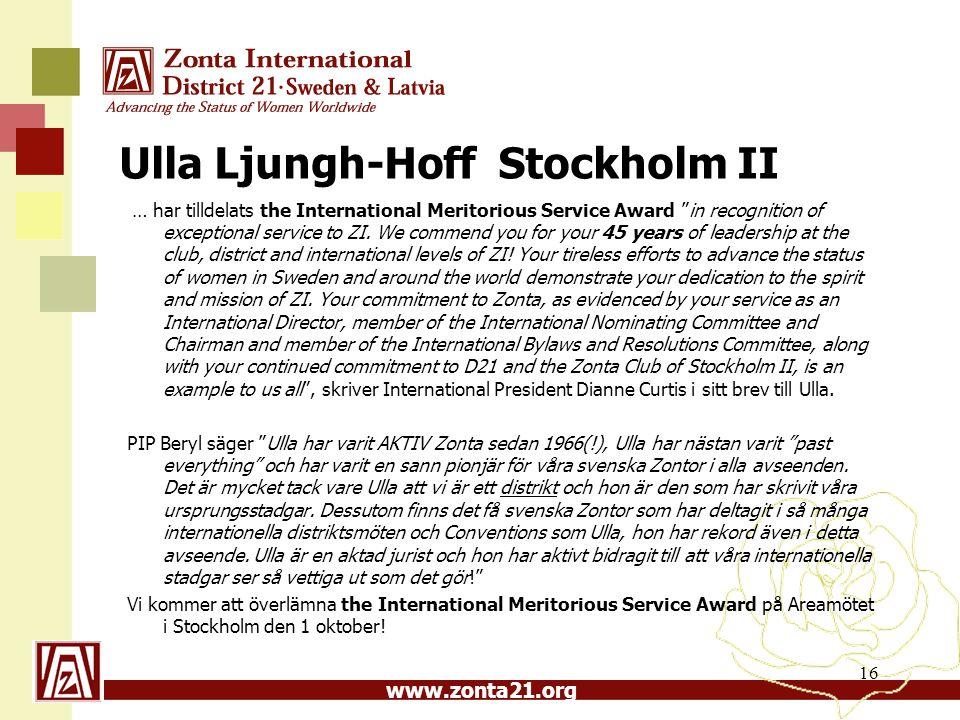Ulla Ljungh-Hoff Stockholm II