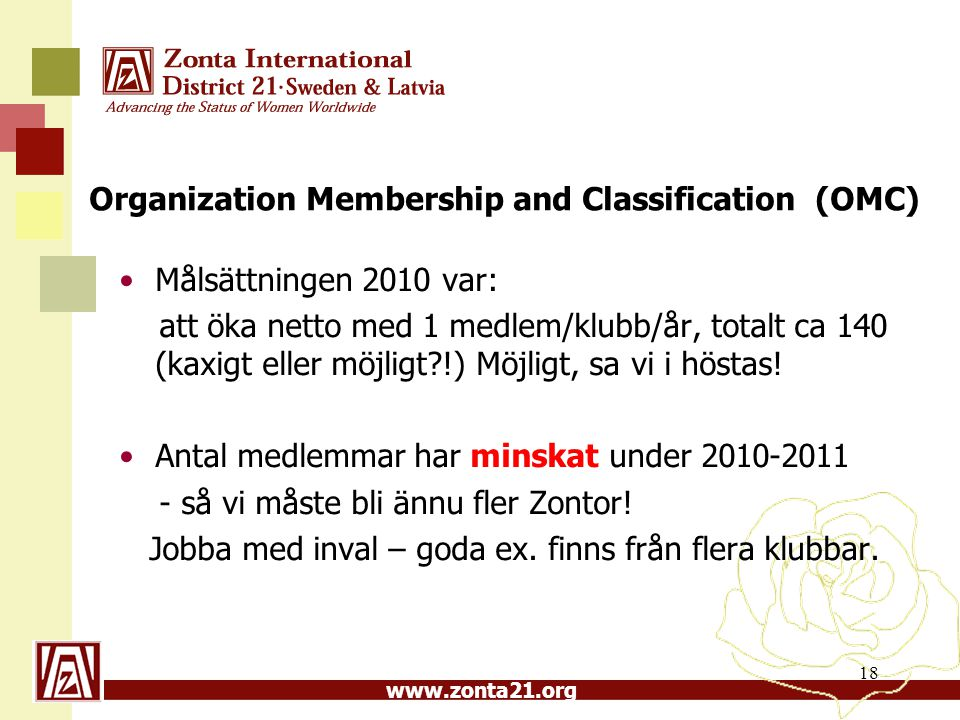Organization Membership and Classification (OMC)