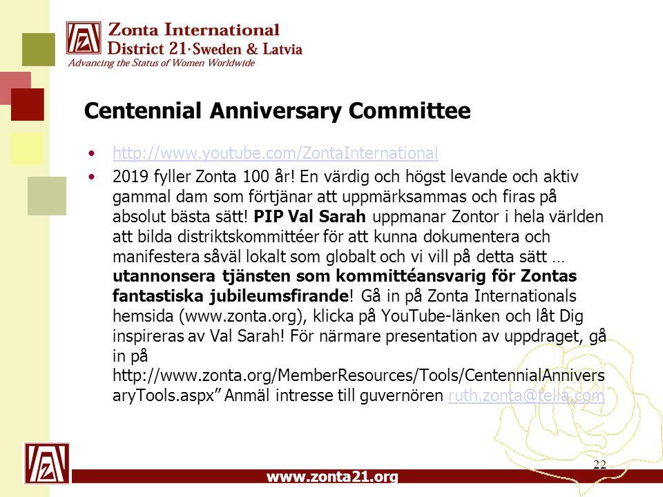 Centennial Anniversary Committee