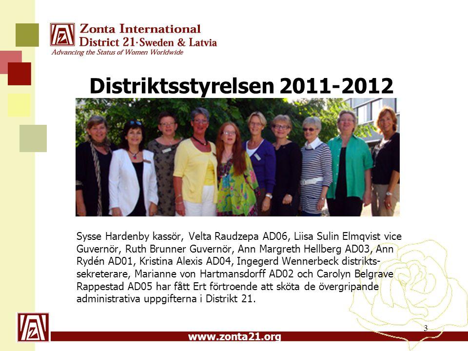 Distriktsstyrelsen 2011-2012