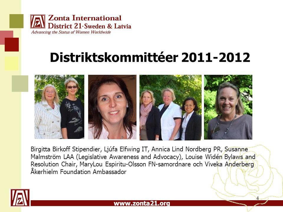 Distriktskommittéer 2011-2012