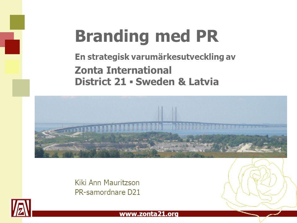 Branding med PR En strategisk varumärkesutveckling av