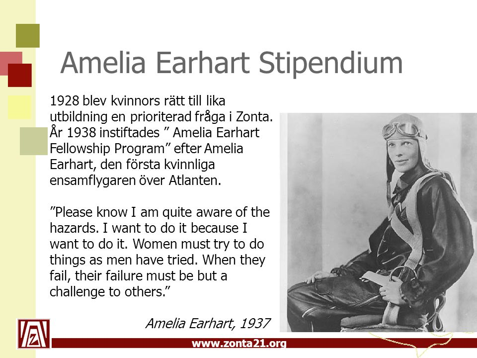 Amelia Earhart Stipendium