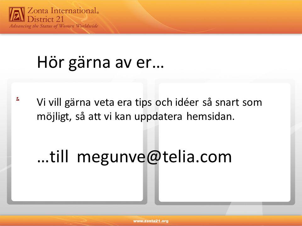 …till megunve@telia.com