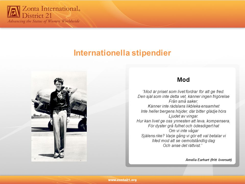 Internationella stipendier