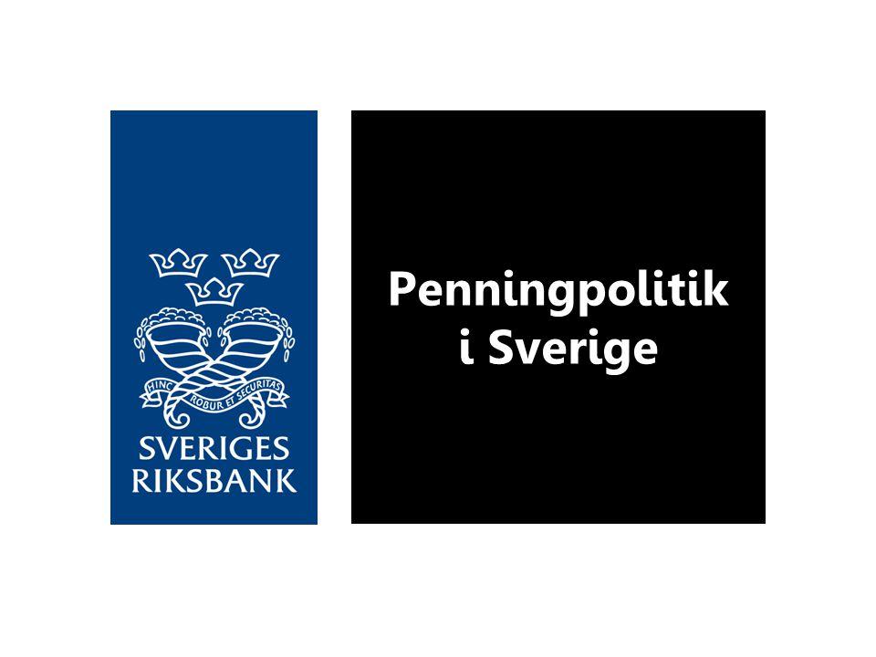 Penningpolitik i Sverige