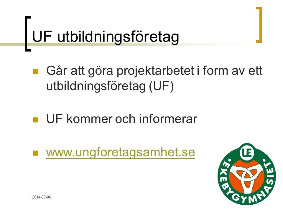 UF utbildningsföretag