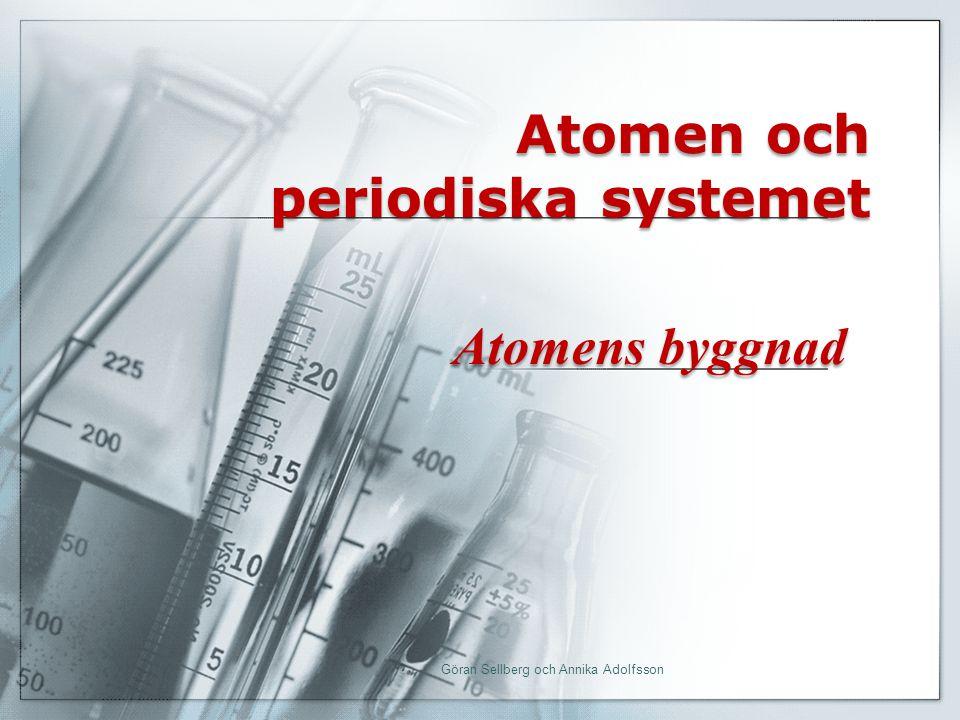 Atomen och periodiska systemet