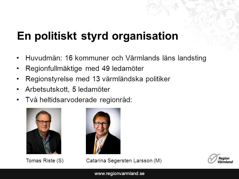 En politiskt styrd organisation