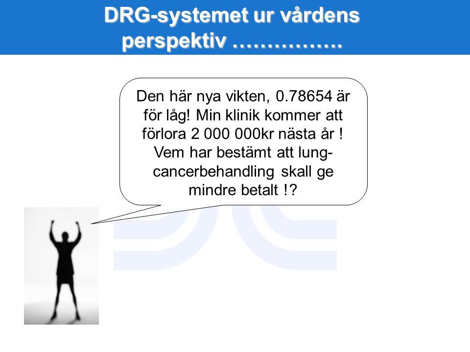 DRG-systemet ur vårdens